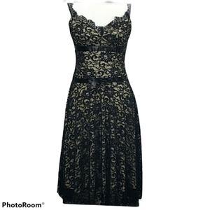 Alexia Admor NY Sz Small Black Lace over C…
